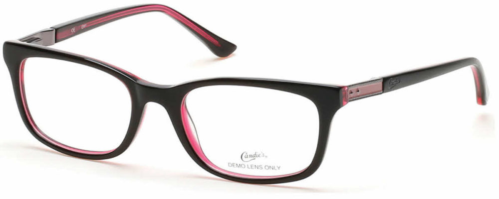 Candies Red and Black Frames at Complete Family Eyecare