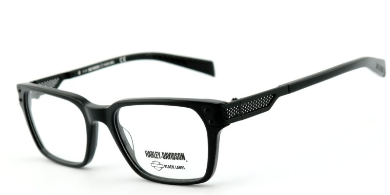 Black Harley Davidson Glasses - Black Label